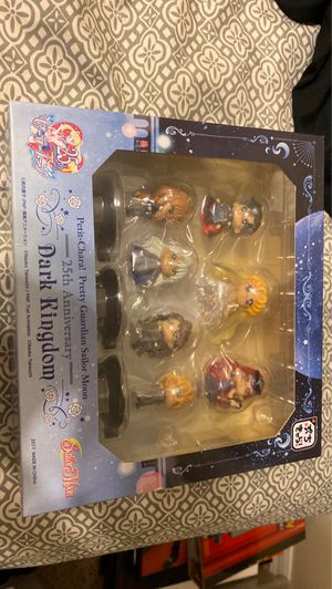 Megahouse Sailor Moon Petit Chara Land Sailor Stars Mini Figures Set of 5 for Sale in Zephyrhills Colony Company, FL