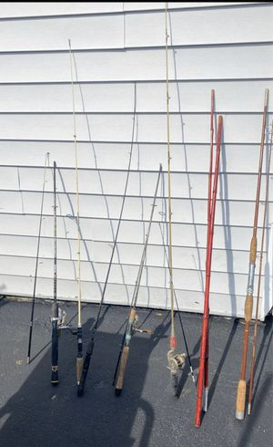 Fishing rods for sale for Sale in Peabody, MA
