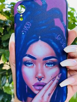 Brand new cool iphone XR case cover silicone rubber Pretty Girl Girls guys womens mens hypebeast hype fundas for Sale in San Bernardino,  CA
