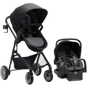 Evenflo Pivot Modular Travel System - Car seat and Bassinet Stroller for Sale in North Bergen, NJ