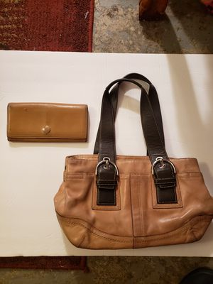 Coach Purse & Wallet for Sale in Abingdon, MD