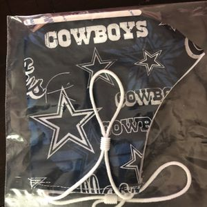 Dallas Cowboys Face Mask for Sale in Chesapeake, VA