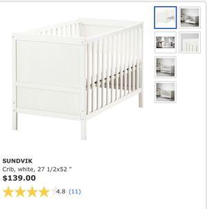 IKEA Baby Crib w/ Mattress for Sale in Houston, TX