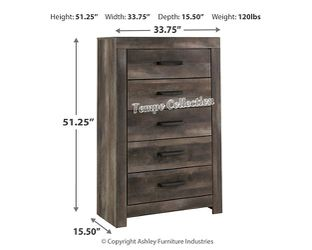 NEW IN THE BOX.HOT SELLER GREY 5 DRAWER CHEST. SKU#TCB440-CHEST for Sale in Westminster,  CA
