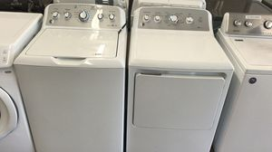 Only $50 down! New GE washer and dryer set with full factory warranty! for Sale in Houston, TX