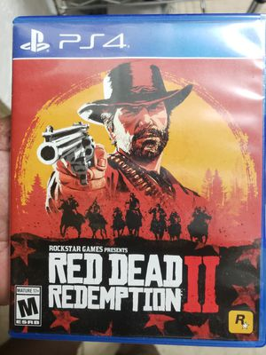 Ps4 Red Dead Redemption for Sale in North Miami Beach, FL