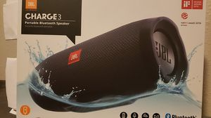 JBL CHARGE3 portable bluetooth speaker for Sale in Bremerton, WA