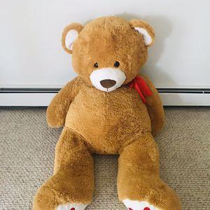 Big teddy bear 130cm height for Sale in Markham, IL