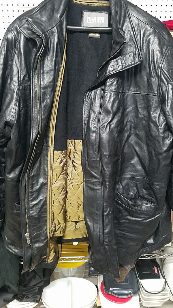 Wilson leather jacket - 20.00