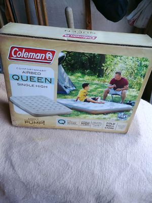 Queen air mattress/ Coleman for Sale in Sterling, VA