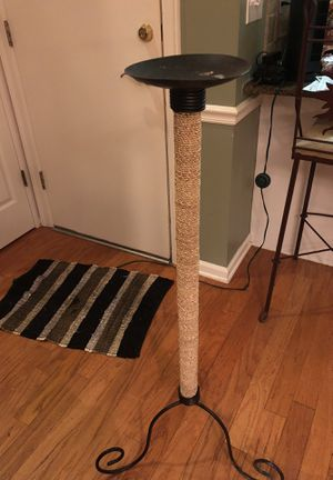 Metal and Wicker candle holder or plant stand for Sale in Cordova, TN