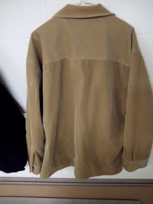 Shaverlake Men's Tan Corduroy Jacket Size L