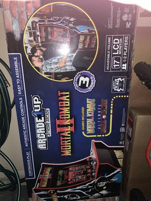 Mortal Combat I, II, III Arcade game. 3 games in one console. for Sale in Midlothian, TX