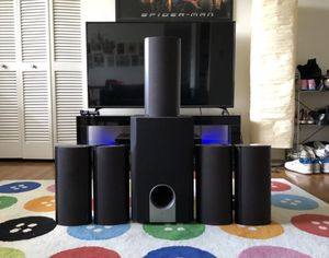 ONKYO 5.1 HD Surround Sounds System for Sale in Baltimore, MD