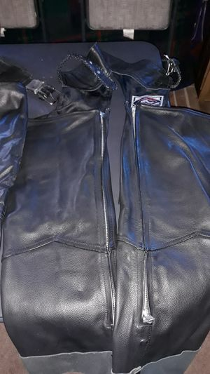 River Road Chaps. Worn only 4 times. Two pair. One small the other extra small. $115. 00 each for Sale in Thornton, CO