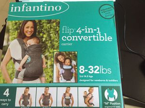 Infantino baby carrier 4 in 1 for Sale in Riviera Beach, FL