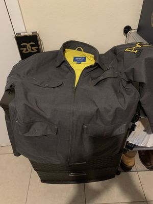Grey Adidas Original Workwear Jacket (M) for Sale in Auburndale, FL