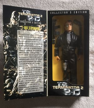 "Terminator 2 Collectors Edition 12"" Figure for Sale in Redford Charter Township, MI"