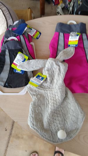 Med, sm, x-small dog jackets for Sale in Mesa, AZ