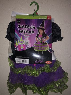 2T Stitch Witch Costume - NEW for Sale in New Braunfels, TX