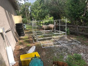 All aluminum plate form/ deck for Sale in West Palm Beach, FL