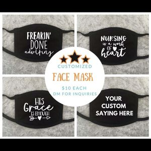 Customized Face Mask (Logo, Image, Saying, Events) for Sale in Virginia Beach, VA