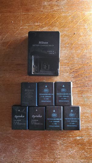 Nikon batteries (Nikon D5200) for Sale in Quakertown, PA