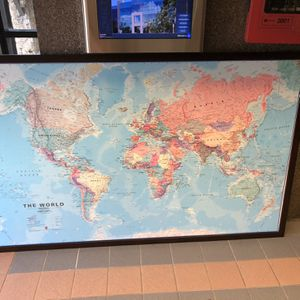 World Map Painting for Sale in Hialeah, FL