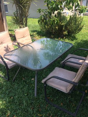 Patio furniture set for Sale in West Palm Beach, FL