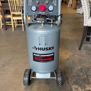 Husky 20gallon Silent Air Compressor for Sale in Phoenix, AZ