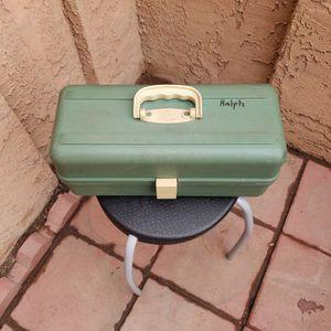 Tackle Box W/Fishing Equipment for Sale in Phoenix, AZ