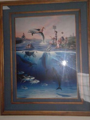 Wyland-Jim Warren limited edition for Sale in Groveport, OH