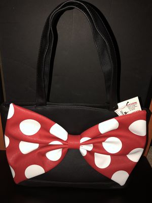Disney park Minnie Mouse Medium Tote Purse NWT for Sale in Winter Haven, FL