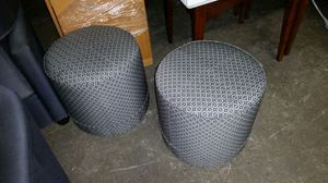 Cylinder accent ottoman for Sale in Baltimore, MD