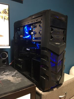 Gaming PC GTX 1070 Ti i7 500GB SSD for Sale in Long Beach, CA