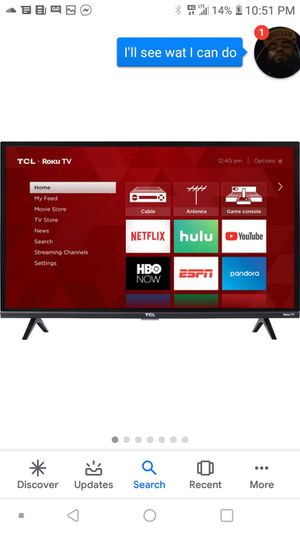32inch TCL Roku Smart Tv. for Sale in PA, US