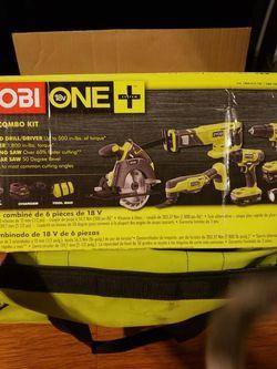 Ryobi One+ 18v 6pc. Power Tool Set for Sale in Azusa,  CA