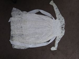 Girls lace flower dress size 8 for Sale in Pittsburgh, PA