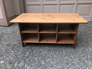 Wood Coffee Table for Sale in Mukilteo, WA
