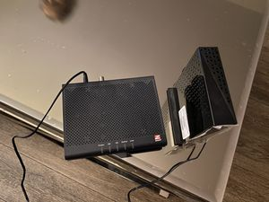 Router Netgear and Modem Zoom for Sale in El Cajon, CA