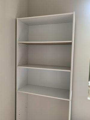 White bookshelf set of 2 for Sale in Chicago, IL
