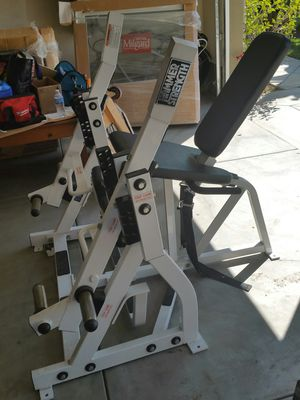 Hammer strength gym weights machines for Sale in Canyon Lake, CA
