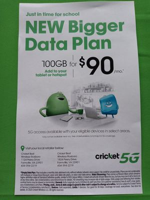 Cricket Wireless Farmville for Sale in Farmville, VA