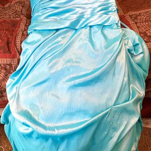 Floor-Length, Baby- Blue Prom Dress for Sale in Hanover, IN