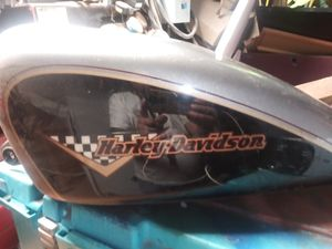 Pixar 1984 Harley-Davidson gas tank cash-only this talkin for Sale in Oklahoma City, OK