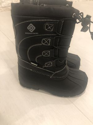 Boys & Girls Toddler/Little Kid/Big Kid Insulated Fur Winter Waterproof Snow Boots for Sale in Miami, FL