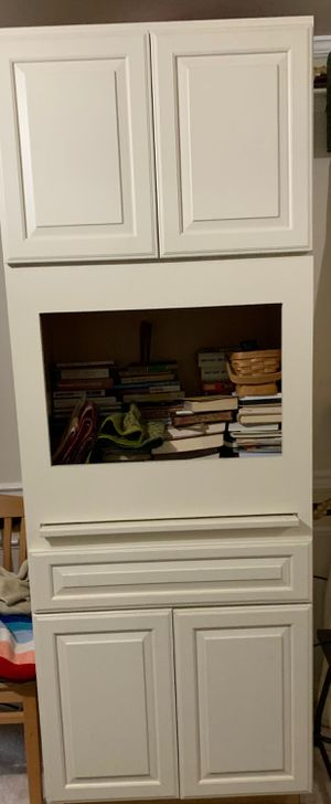 Microwave Stand/Bookshelf for Sale in Gaithersburg, MD