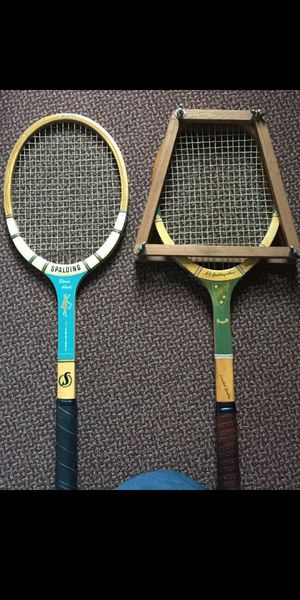 VINTAGE TENNIS RACQUET PAIR for Sale in Raleigh, NC