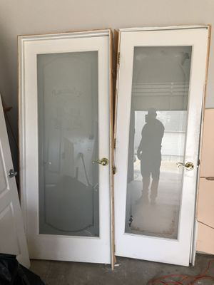 Decorative laundry and pantry doors for Sale in Parkville, MD