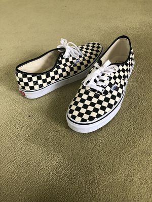 Vans Checkered Originals size 10.5 mens for Sale in Toledo, OH